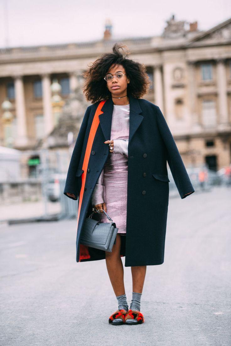 Paris Fashion Week SS17 Street Style: Day 3 - ELLEUK.com