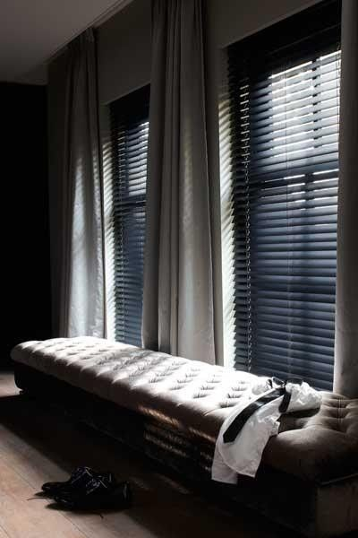 verkrijgbaar bij studio canape..horizontale jaloezieën, Deco ideeën