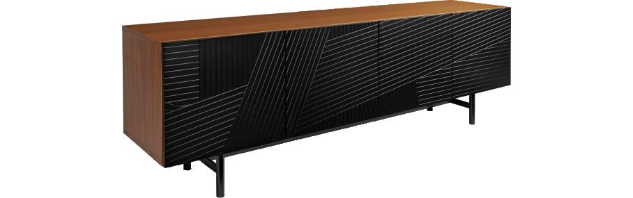buffet habitat 849 mais pas de tiroirs s jour pinterest tiroir buffet bas et noyer. Black Bedroom Furniture Sets. Home Design Ideas