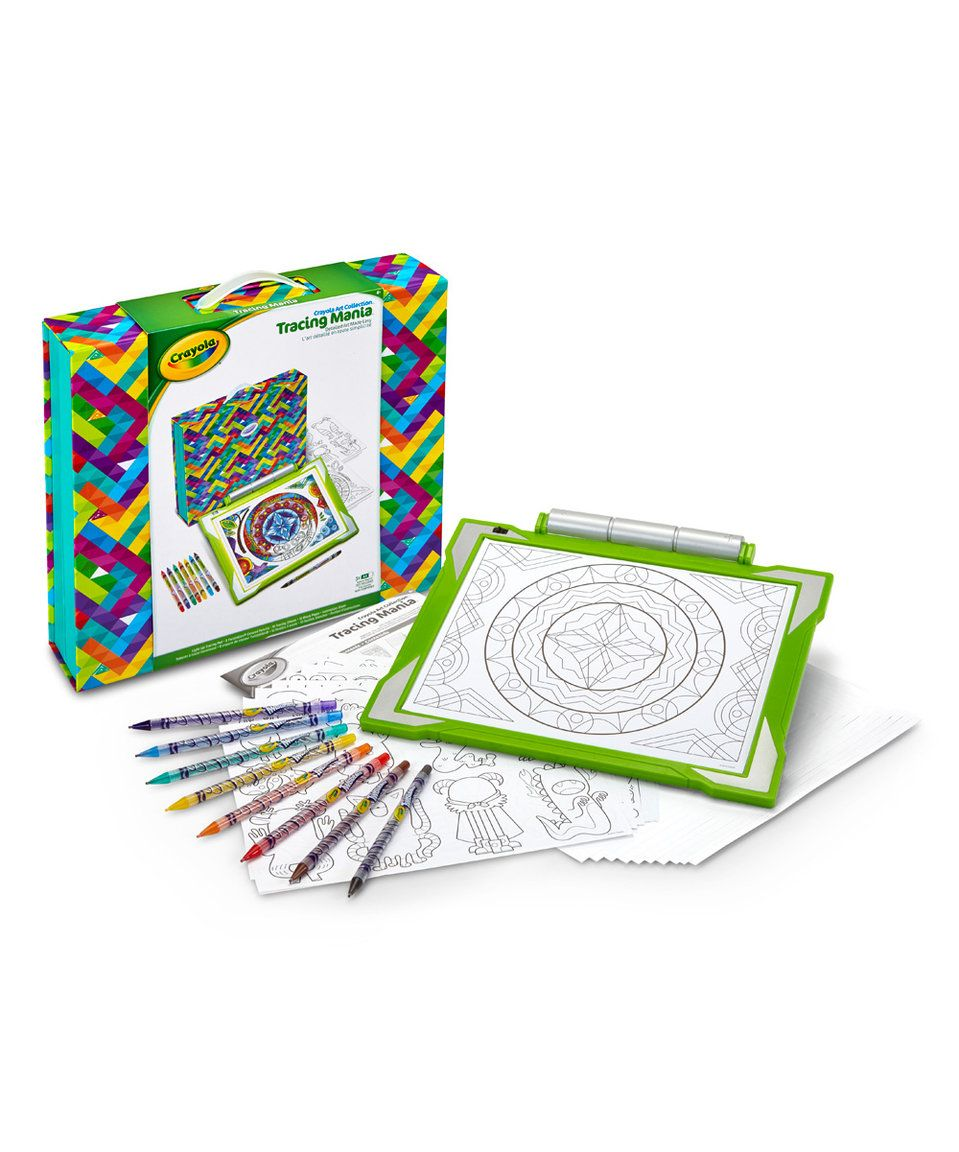 Take A Look At This Deluxe Light Up Tracing Desk Set Today Craft Kits Art Kits Desk Set