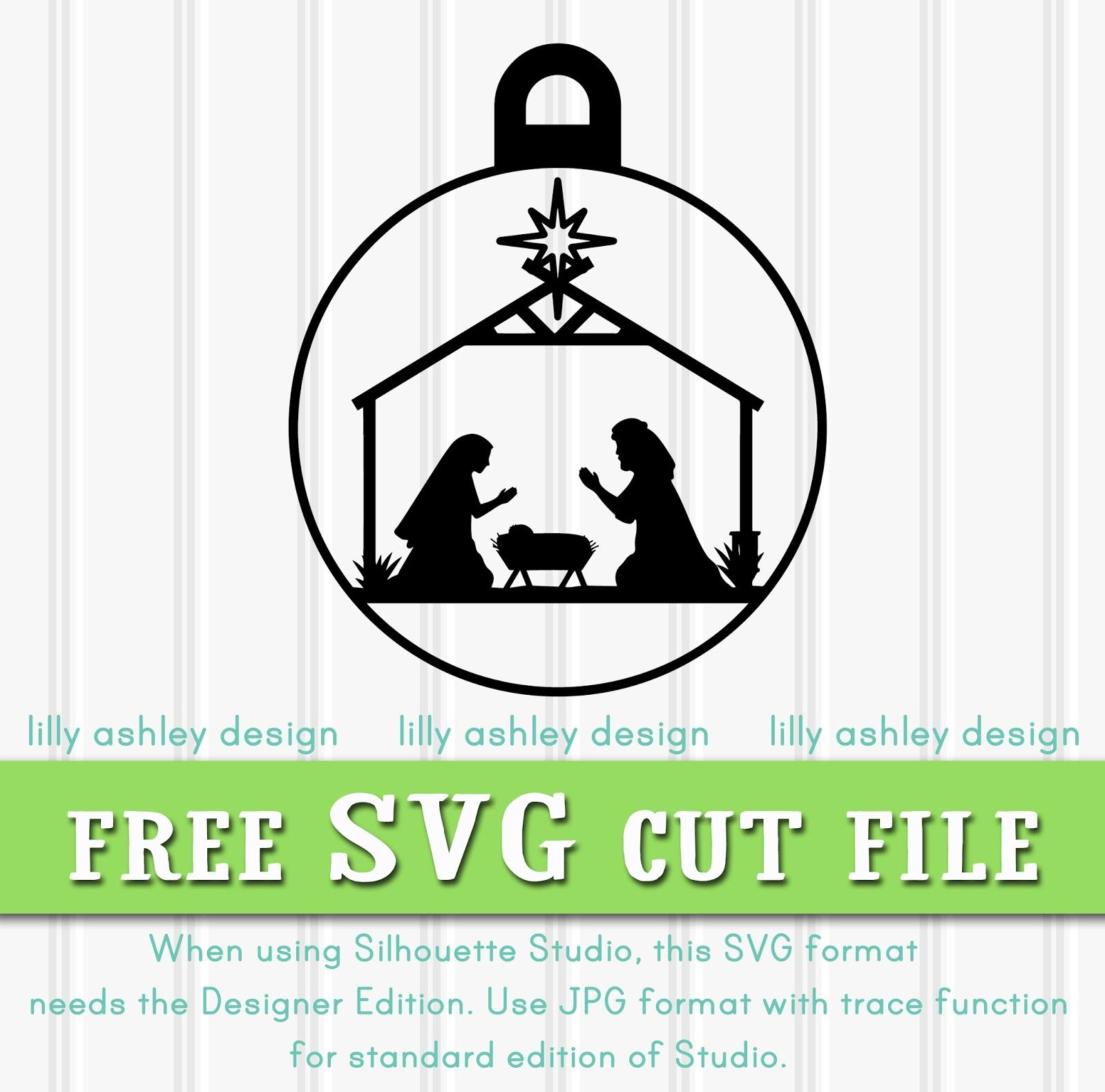 Free Nativity SVG Cricut christmas ideas, Christmas