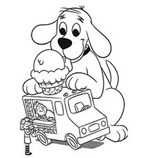 Top 25 Free Printable Ice Cream Coloring Pages Online | Red dog ...