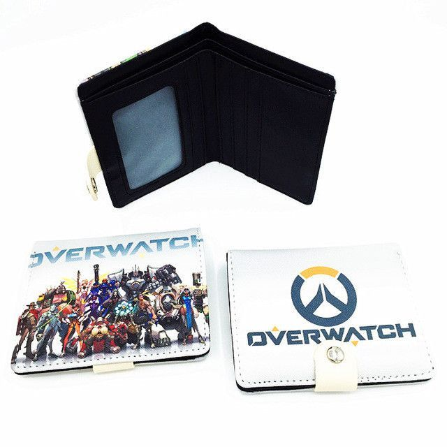 5226f7b04 Blizzard Game Overwatch/Tokyo Ghoul 3D Wallets Tracer Reaper Overwatch  Purse Billetera For Teenager Leather