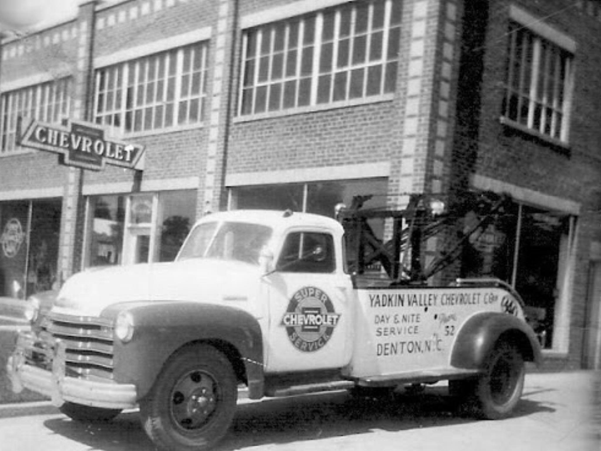 Yadkin Valley Chevrolet Co Dealership Denton North Carolina