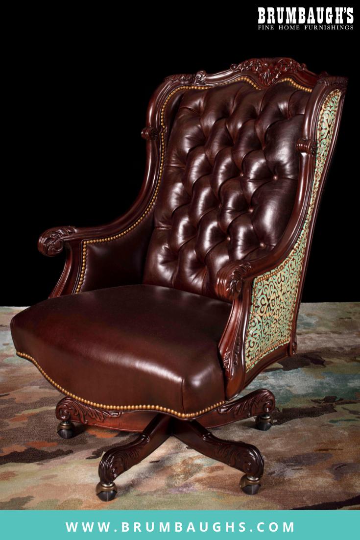 Quanah Executive Chair Rustic Furniture Design Rustic Furniture Diy