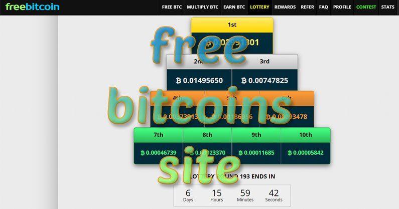 Win bitcoins online