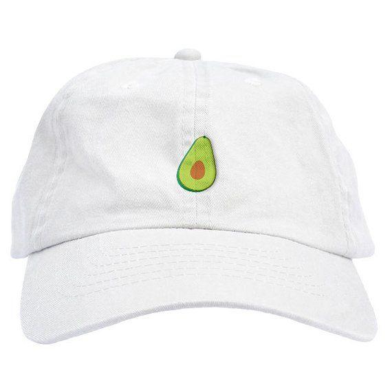 46988504530 Avocado Dad Hat Baseball Cap Low Profile