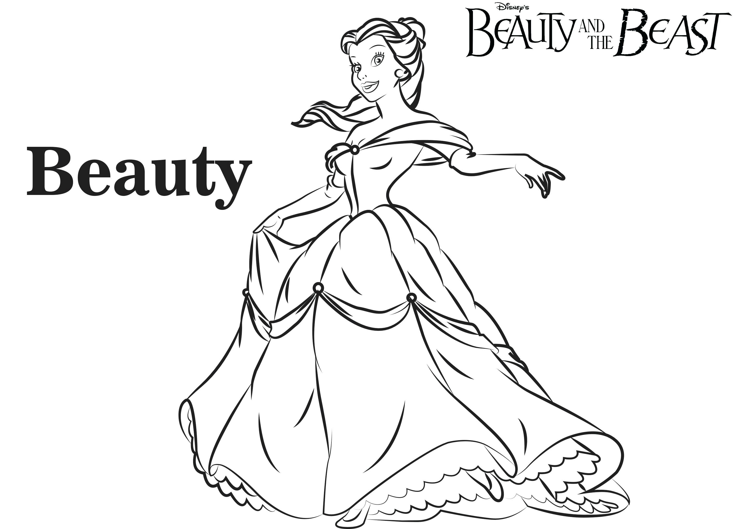 Belle Coloring Pages Coloring Pages Disney Belle Coloring