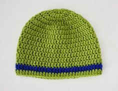 Free crochet pattern: baby beanie