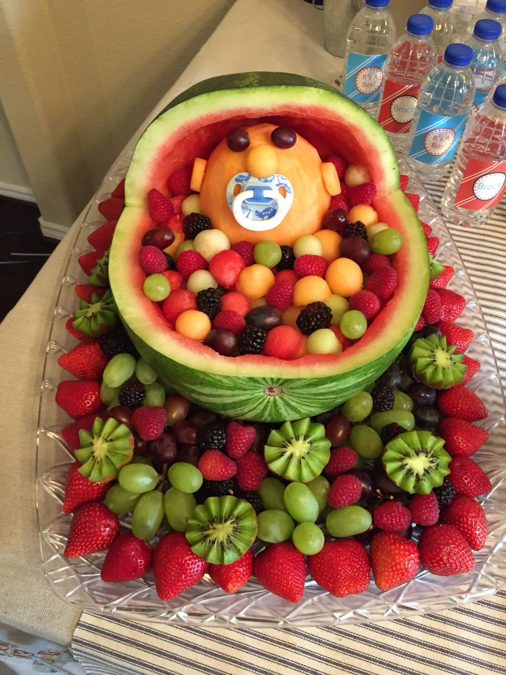 Watermelon Baby Carriage For A Baby Shower! Fruit Baby