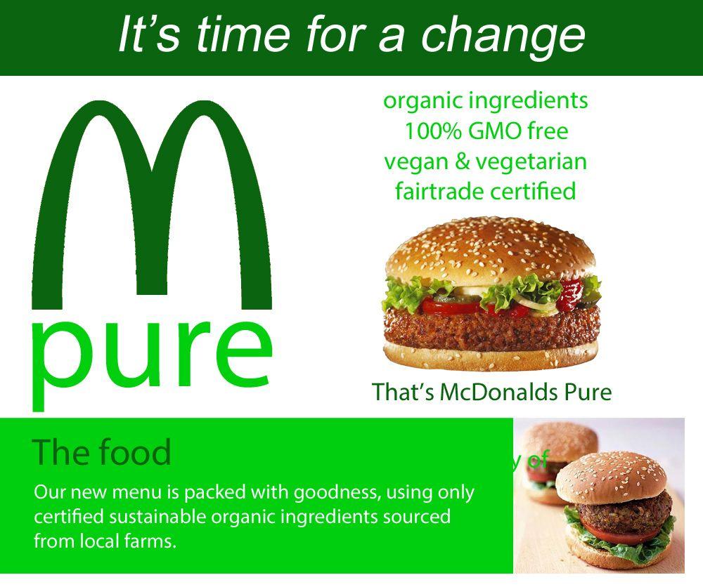 Turn You Arches Green Mcdonalds Food Mcdonalds Vegetarian