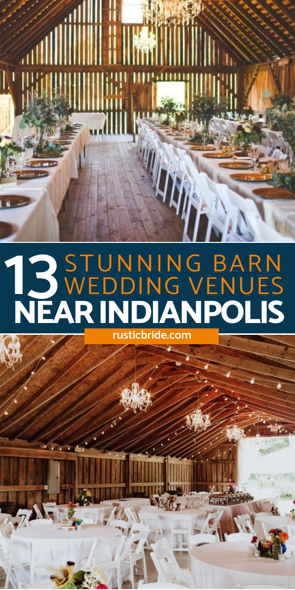 13 Stunning Barn Wedding Venues Near Indianapolis ...