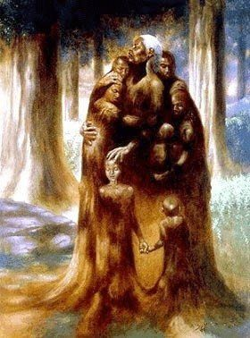 19164c5b967 Family Tree - 33x25 - limited edition print - Kadir Nelson – It s A Black  Thang.com