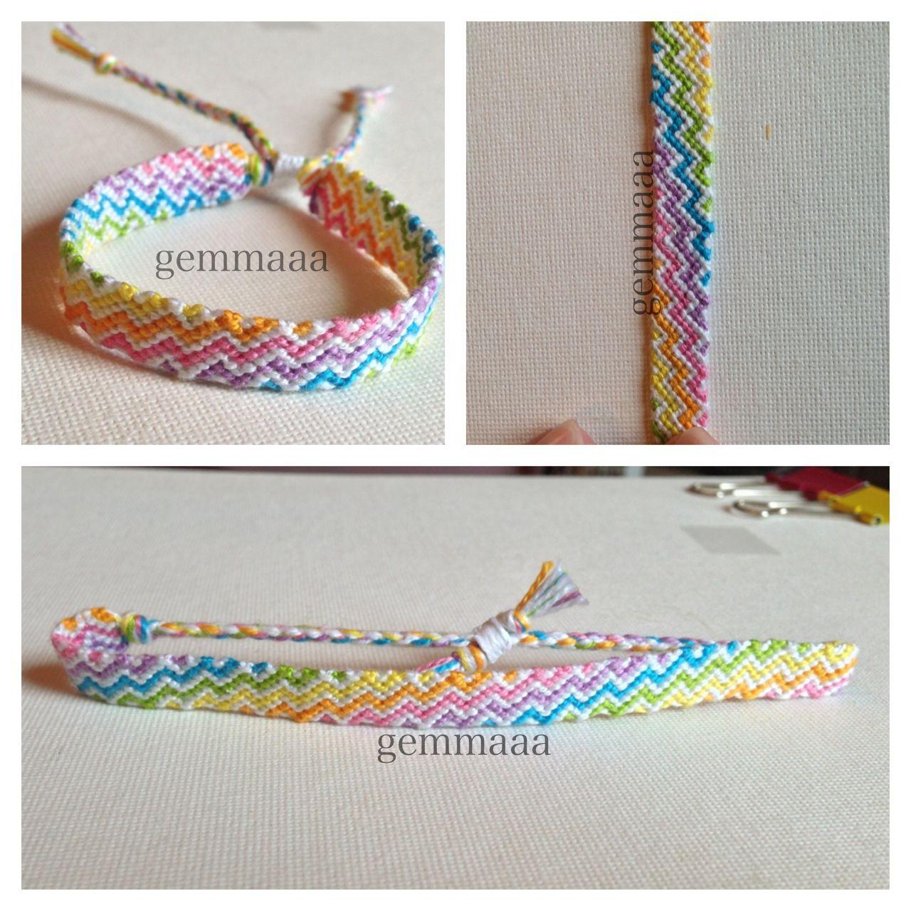 Zig Zag Friendship Bracelet Set