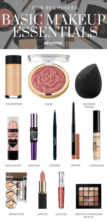 769db6d50829 PinCharlotterest Makeup Essentials For Beginners