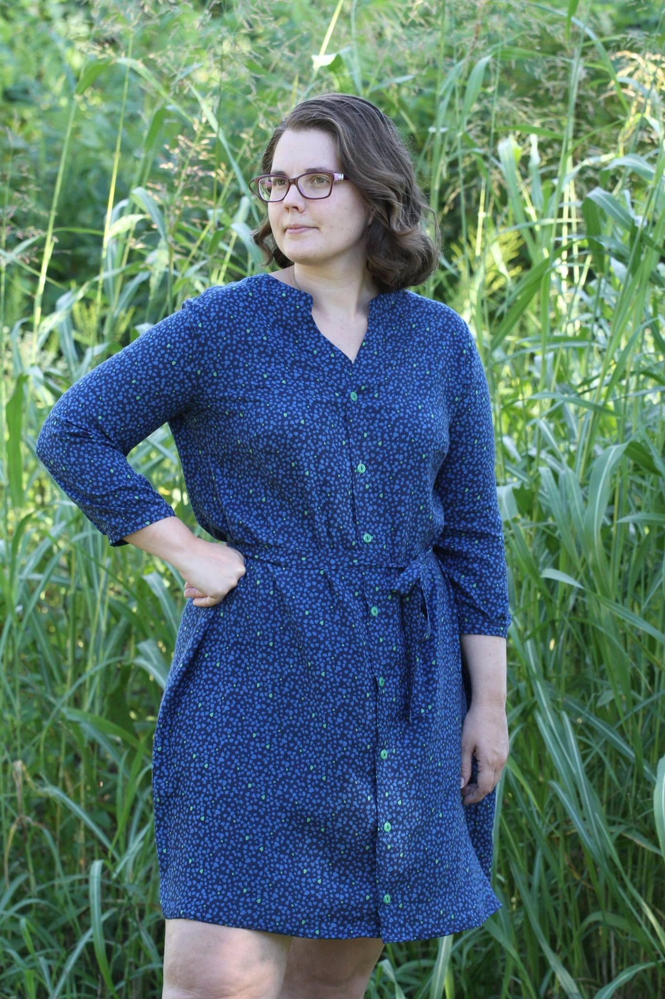 Bonn Shirt & Dress PDF Sewing Pattern | Bonn dress - Itch to stitch ...