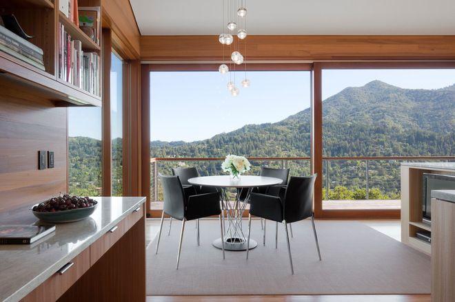 comedor Contemporáneo Houseplans.com