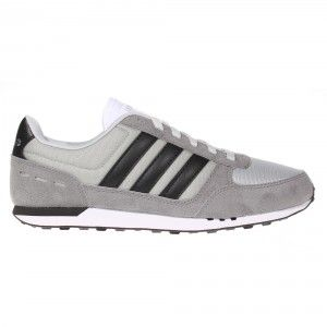 a4cde8b8d Adidas NEO City Racer Trainer Mens - Grey   Black   White