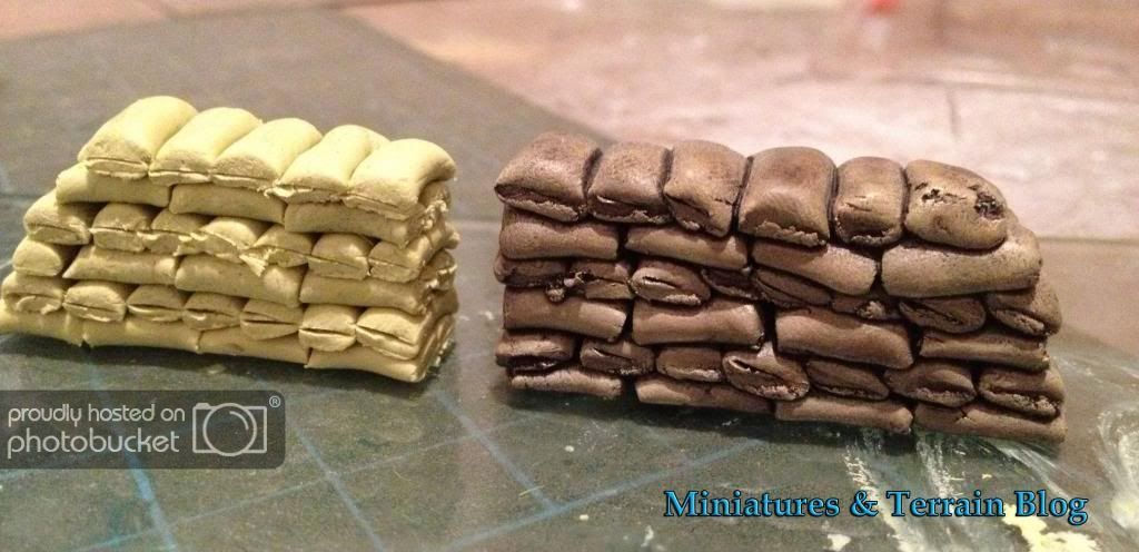 Miniatures Terrain How To Make Sandbags D