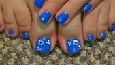 Image result for French Pedicure with Flower Design - #Design #flower #French #image #pedicure #result