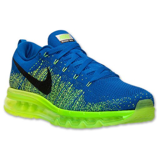 the latest 48189 b9089 Men s Nike Flyknit Air Max Running Shoes - 620469 400   Finish Line
