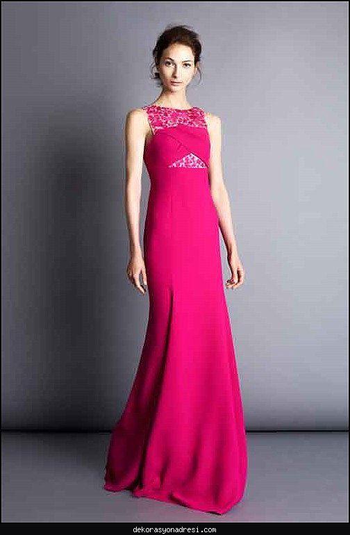Nice Pembe Abiye Elbise Modelleri 2016 Sleeveless Formal Dress Formal Dresses Dresses