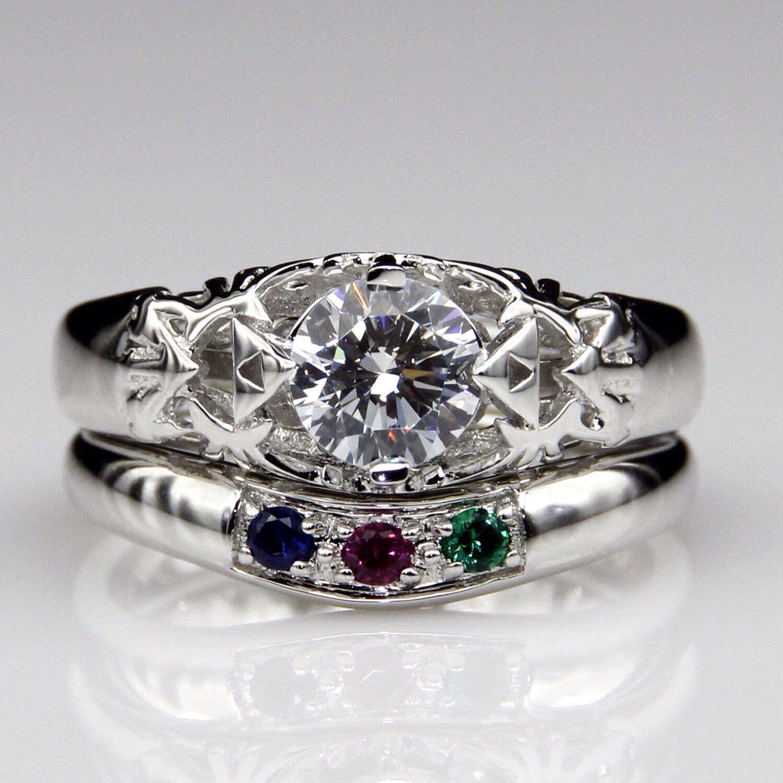 Legend of Zelda Triforce Hyrule Crest Engagement Wedding Promise