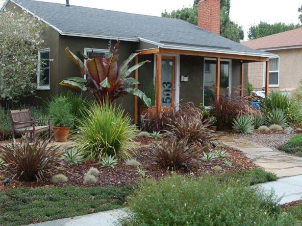 Drought tolerant garden by max hgtv gardens garden - Drought tolerant front yard landscaping ideas ...