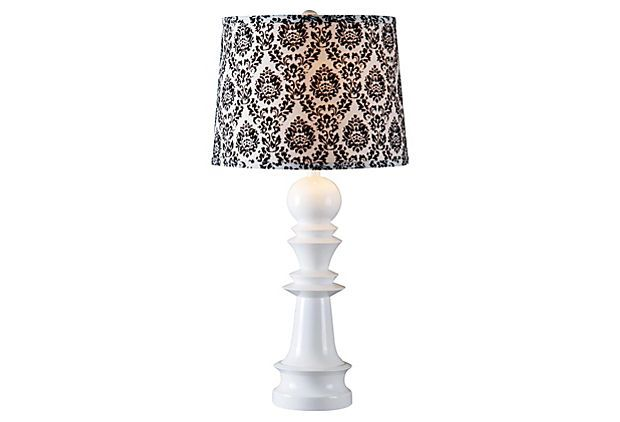 Country End Table Lamps: LeBeau Table Lamp On OneKingsLane.com