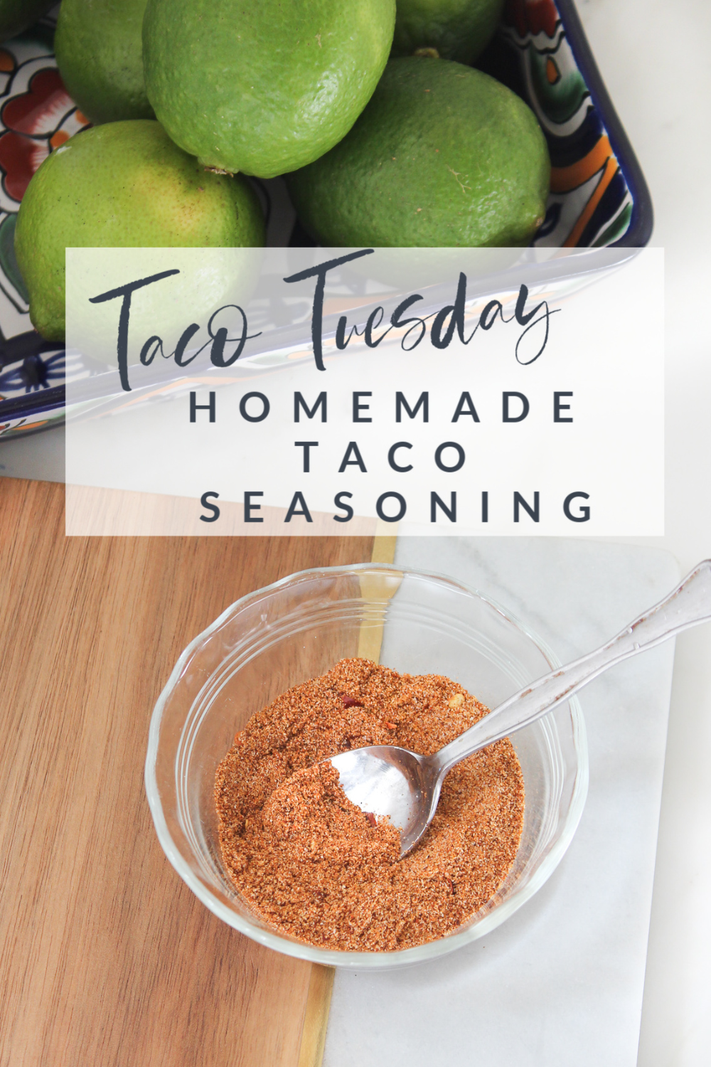 Taco Tuesday || Homemade Taco Seasoning - Southern State of Mind Blog by Heather