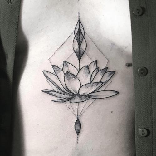 Tatouage lotus significations et illustrations tattoome le meilleur du tatouage fanny - Tatouage lotus signification ...