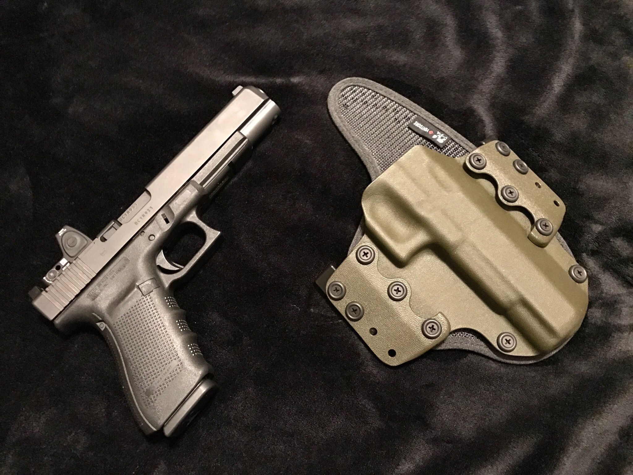 Stealthgear Owb Flex For The Glock G40 Mos This Is An Awesome