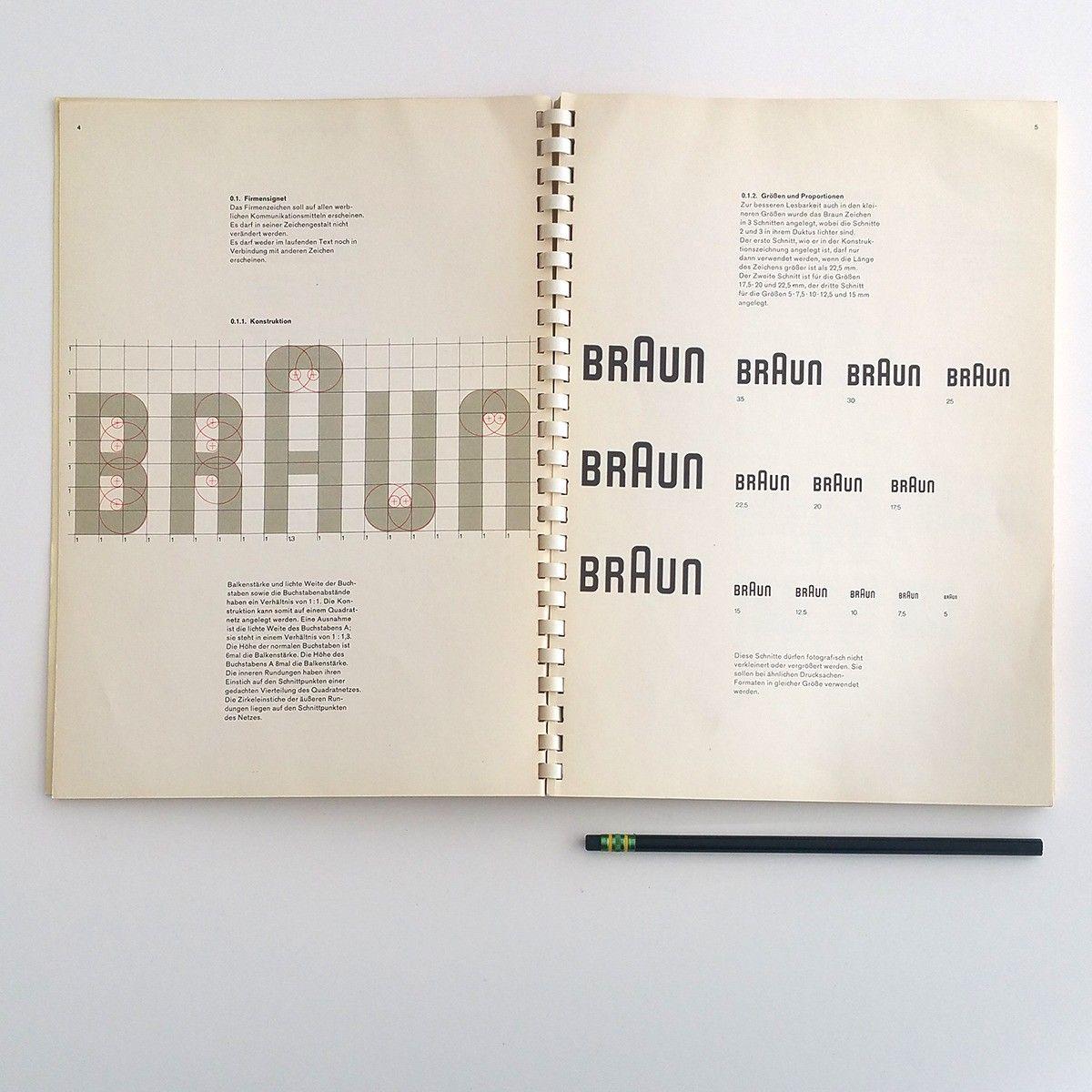Braun manual from Vignelli Center