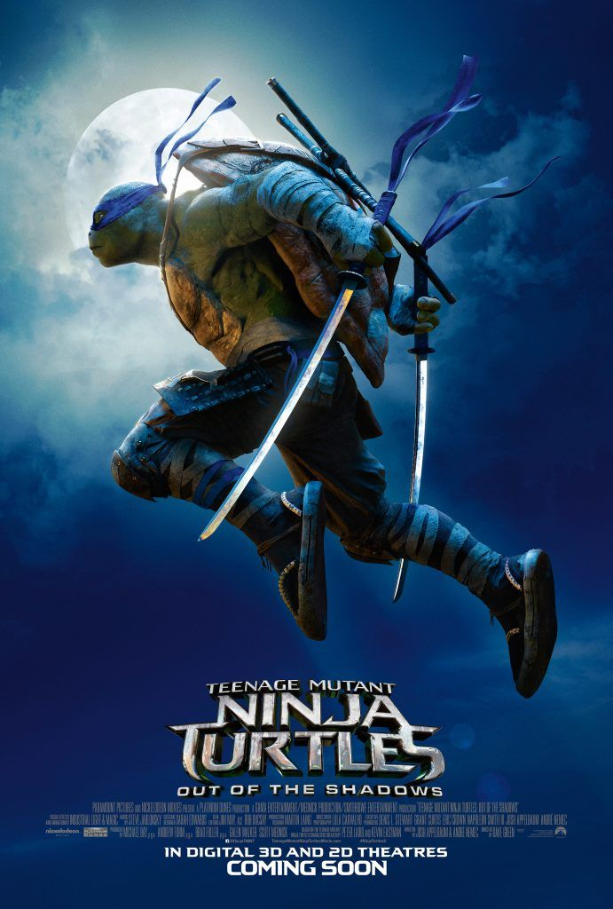 Teenage Mutant Ninja Turtles Out Of The Shadows Gets A New Trailer Watch It Here Leonardo Ninja Turtle Ninja Turtles Ninja Turtles Movie
