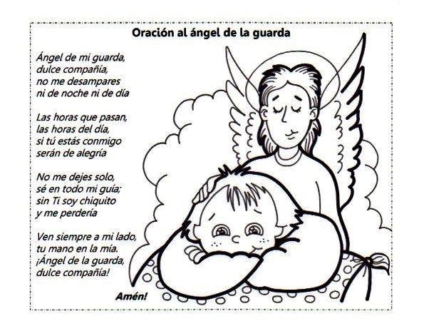 Angel de mi guarda (Oración) | ANGELES | Pinterest