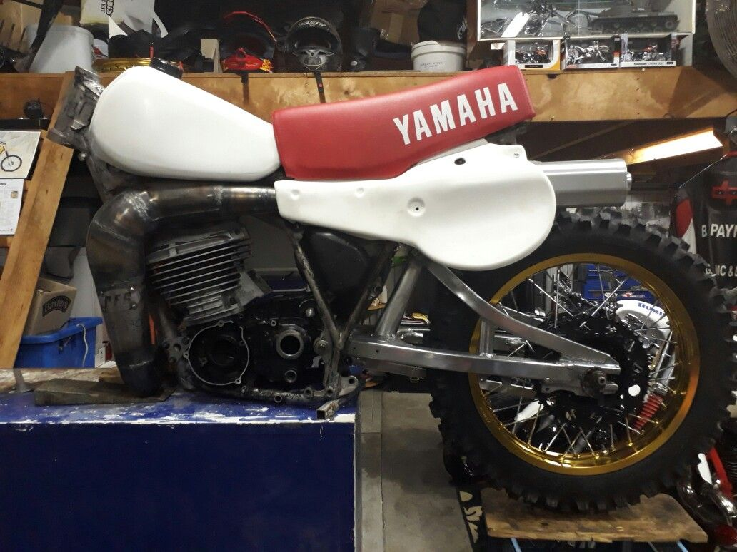 Pro Form Racing Pipe YAMAHA YZ490 Expansion chamber 2 Stroke exhaust