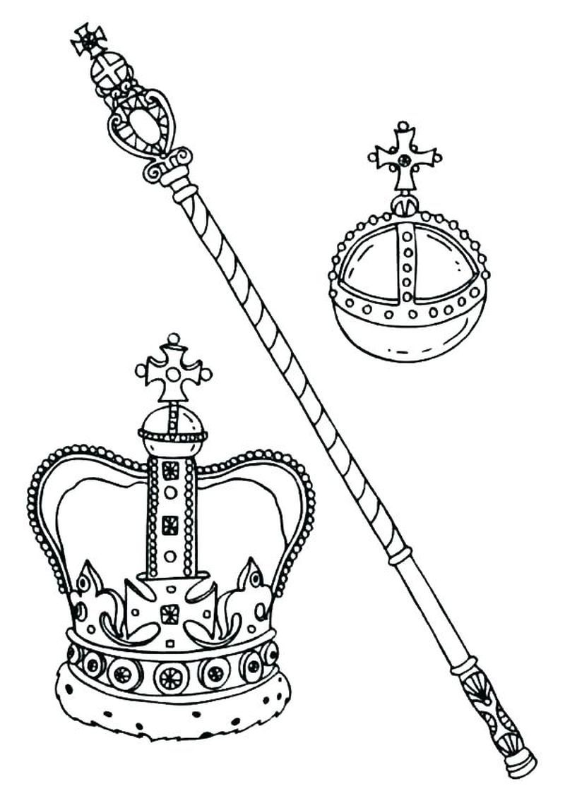 Download Coloring Pages Of A Crown To Print Free In 2021 Coloring Pages Kids Printable Coloring Pages Queen Frame