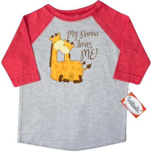 inktastic Spoiled by Nonna Toddler T-Shirt