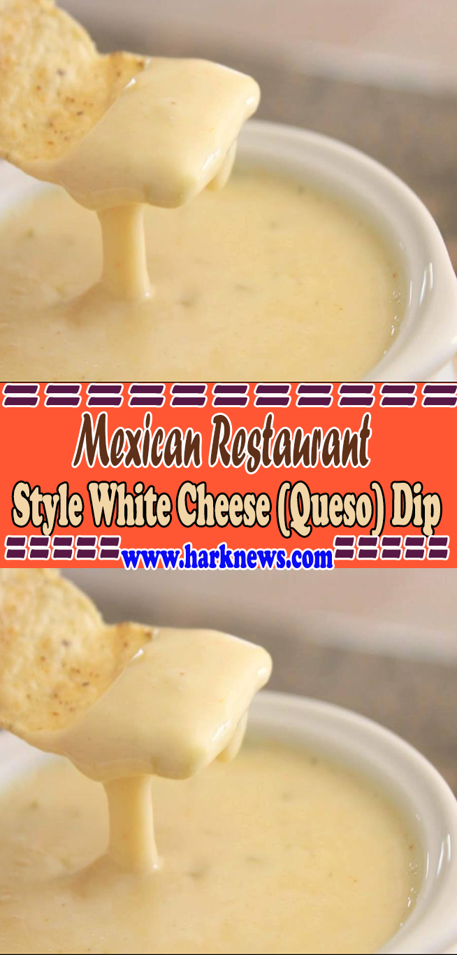 Mexican Restaurant Style White Cheese Queso Dip Recipes Queso Cheese Mexican Food Recipes