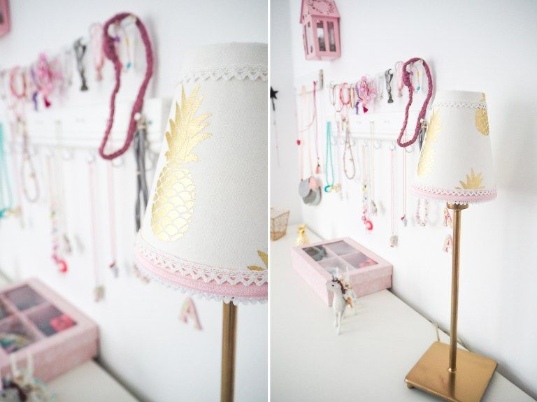 IKEA HACK Kinderzimmer Mädchenzimmer DIY nähen Ananas