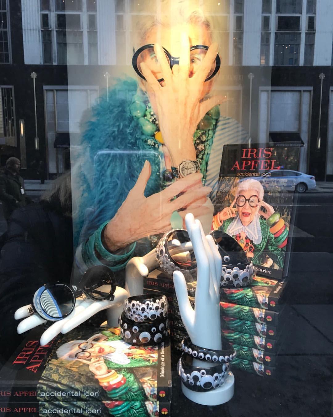 "BERGDORF GOODMAN, New York, ""Iris Apfel... Accidental Icon"", photo ... 0c4cfed5461"