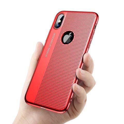 custodia iphone x red