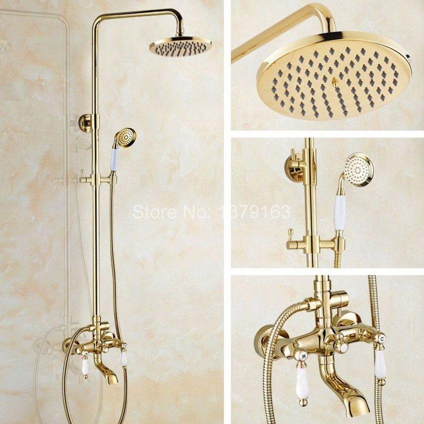Bathroom Rainfall Shower Set faucet 8\