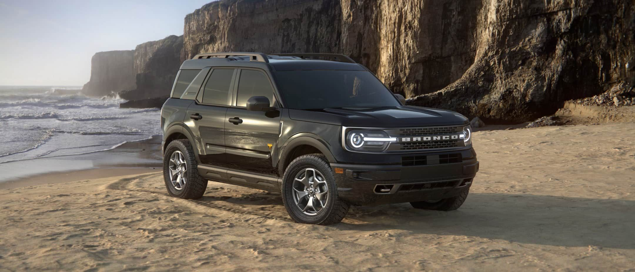 2021 Ford Bronco Sport Suv In Shadow Black In 2020 Bronco Sports Sport Suv Ford Bronco