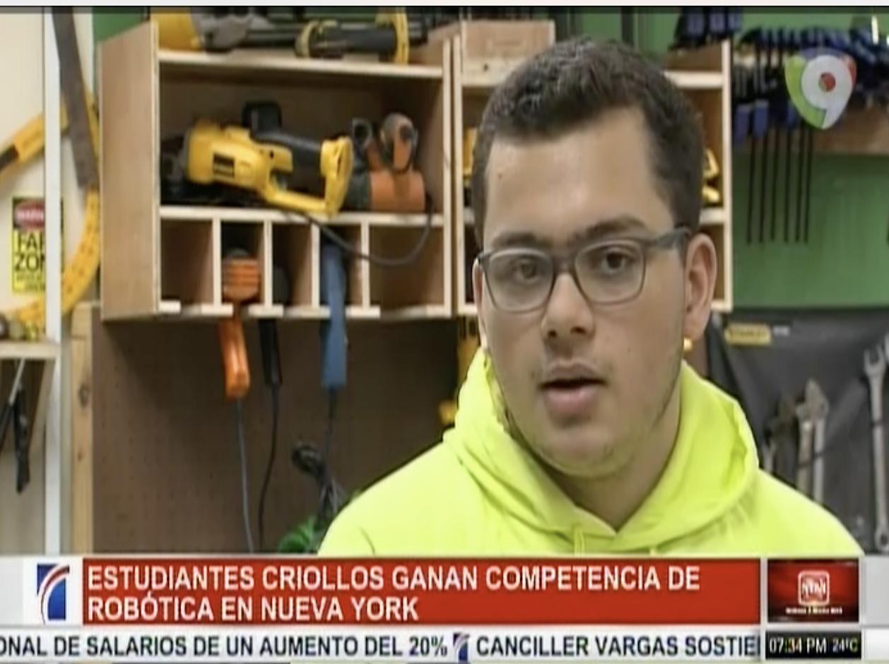 Estudiantes Dominicanos Ganan Concurso De Robótica En NY