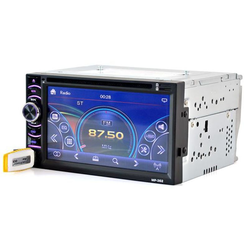6 5 Double 2din Touch Car Stereo Cd Dvd Player Bluetooth Usb Sd Am