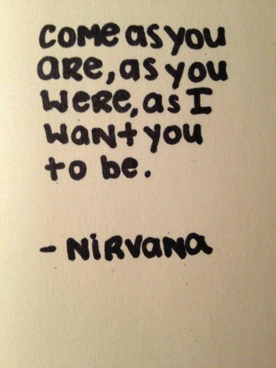 Nirvana #qotd