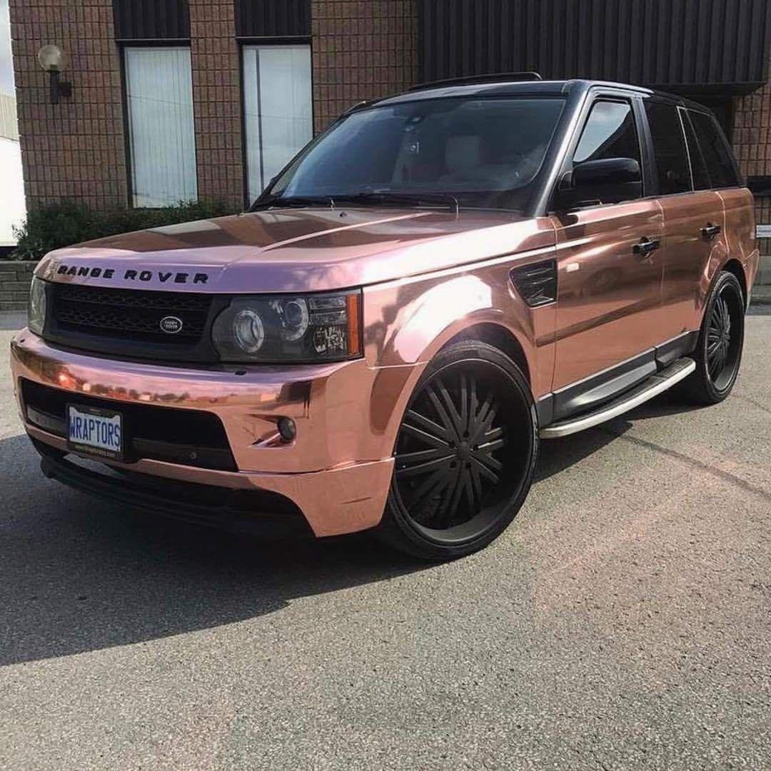 Rose Gold Range Rover тєяєѕт Gottalovedesss R I D E