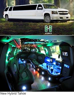 Green Limo Lights for my birthday!!!!