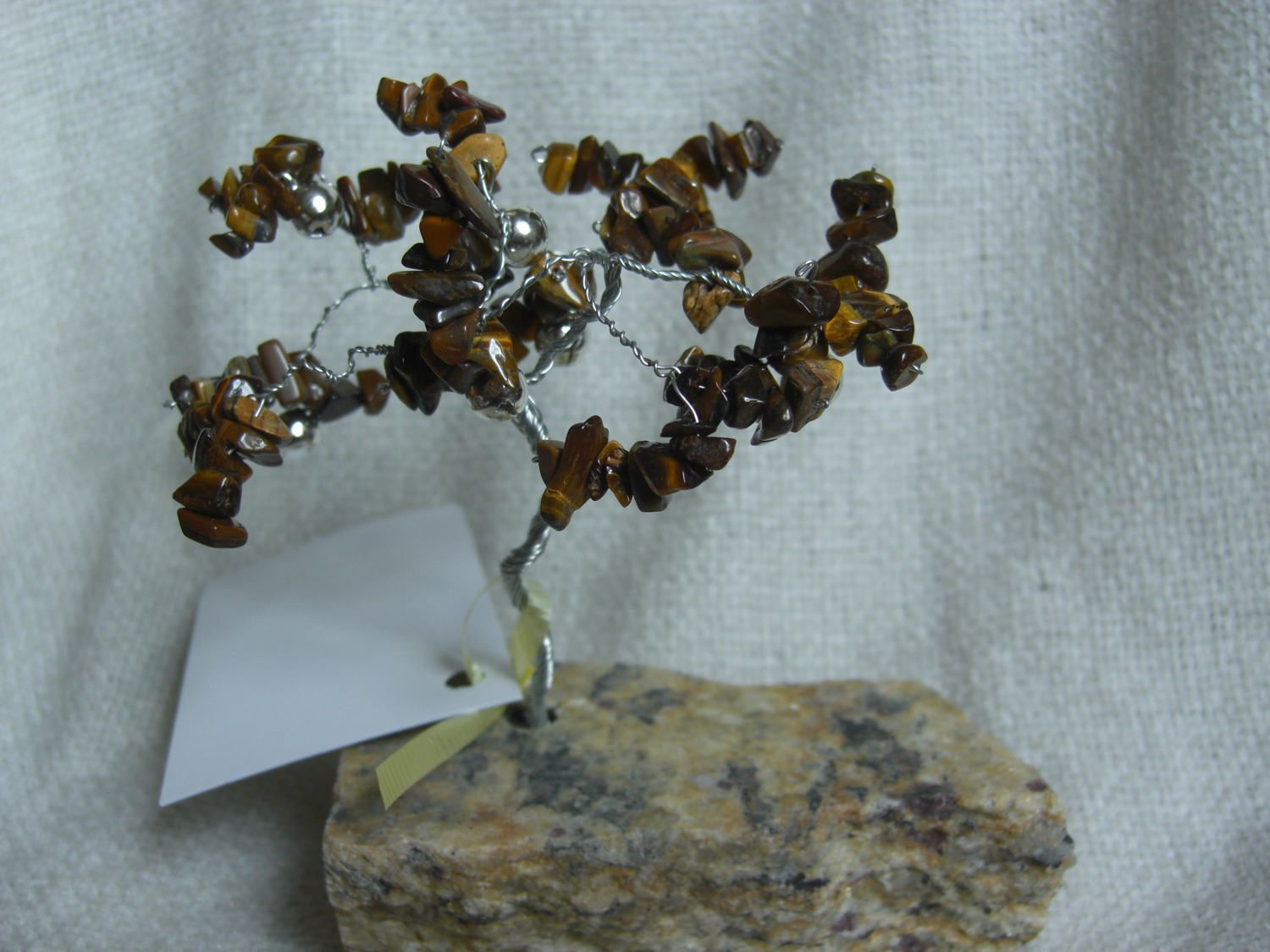 Wire Tree - Prosper Tree - Tiger\'s Eye Gemstones by bySelfMade on ...